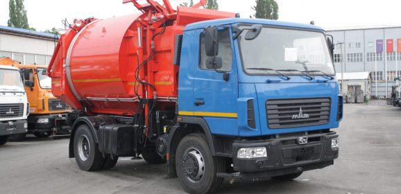 Мусоровозы на базе МАЗ с боковой, задней загрузкой: основные характеристики и особенности транспорта